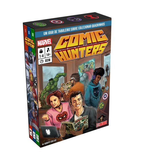 Marvel Comic Hunters (pronta entrega)