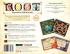 Miniatura - Root: Expansão Submundo (pronta entrega)