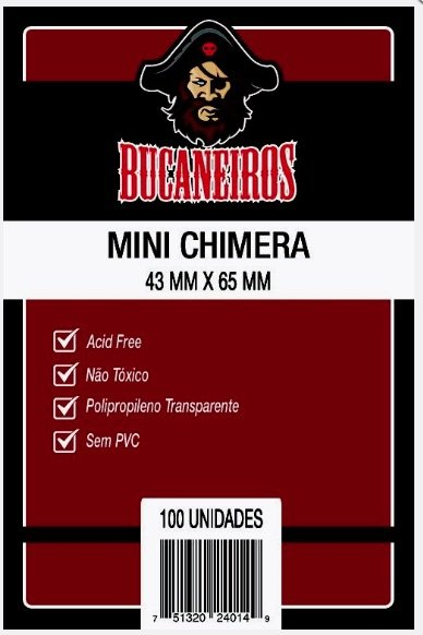 Sleeves Mini Chimera 43 X 65 mm (Bucaneiros)