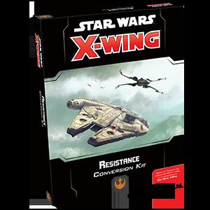 Star Wars X-Wing (2.0): KIT DE CONVERSÃO - RESISTÊNCIA