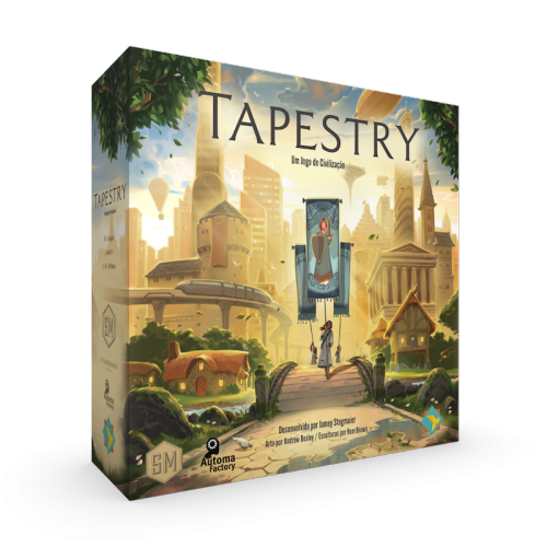 Tapestry (pronta entrega) - GANHE os sleeves!