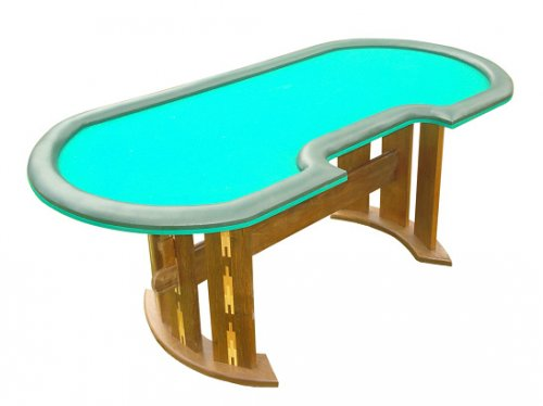 MESA DE POKER TEXAS HOLD´EM COM MACHETARIA