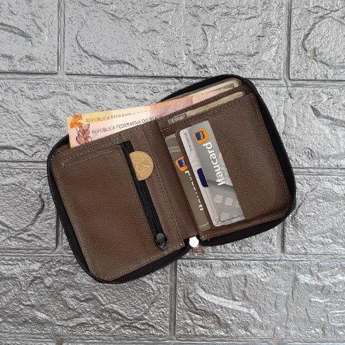 Carteira Masculina Case - Preto com Concreto