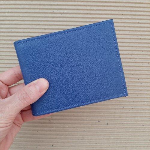 Carteira Masculina Slim - Azul Royal