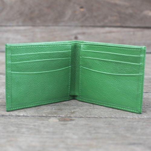 Carteira Masculina Slim - Verde Bandeira