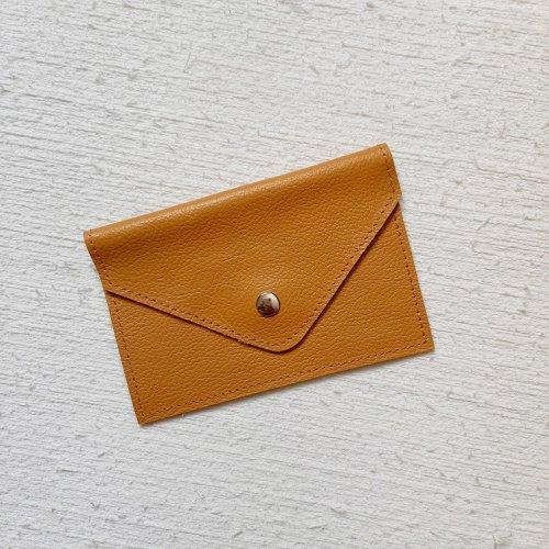 Porta Cartão Envelope - Açafrão