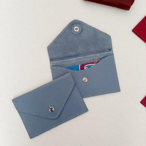 Porta Cartão Envelope - Azul céu
