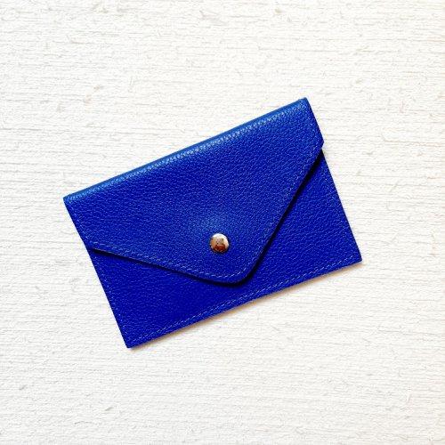 Porta Cartão Envelope - Azul Royal