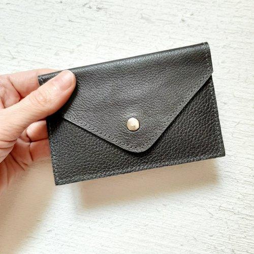 Porta Cartão Envelope - Café