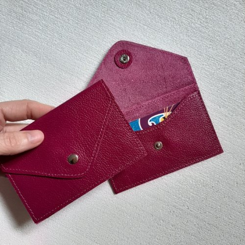Porta Cartão Envelope - Magenta