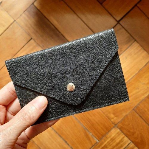 Porta Cartão Envelope - Preto