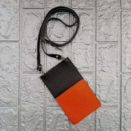 Porta Celular com Alça - Abóbora