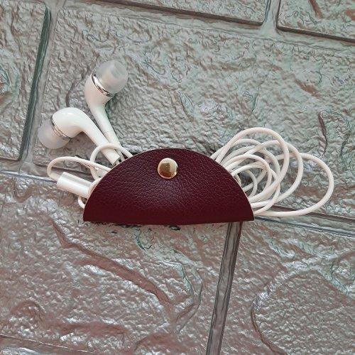Porta Fone de Ouvido - Roxo