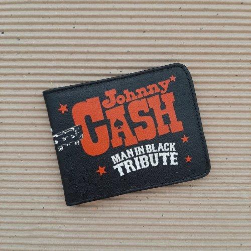 Porta Nota Classic - Preto com Azul Petróleo com Silk de Johnny  Cash