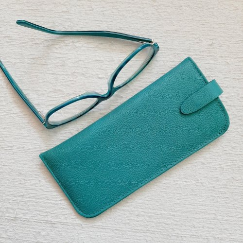 Porta Óculos - Azul Turquesa