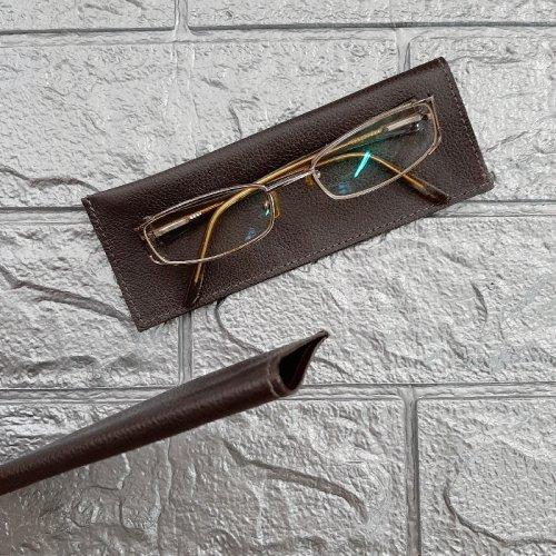 Porta Óculos de Leitura - Café