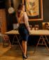 Miniatura - Camisa Detalhe Em Roletes Rosa Via Tolentino