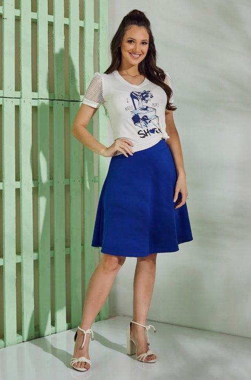 Conjunto Love Shoes Azul Tata Martello Primavera Verão