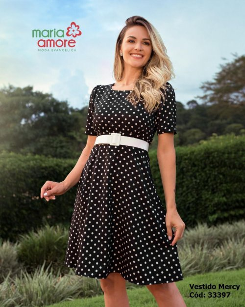 Vestido Mercy  Maria Amore