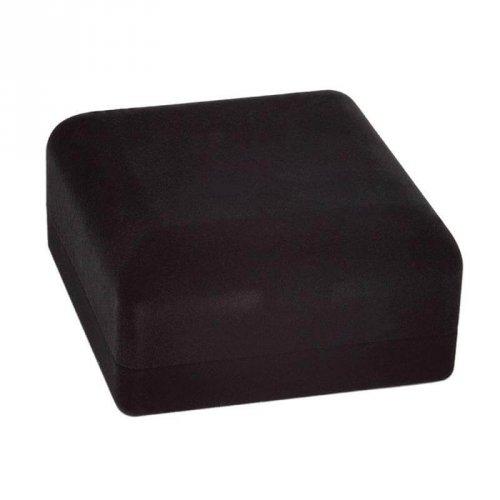 Caixa De Veludo Para Pulseira Quadrada Preta - EG01