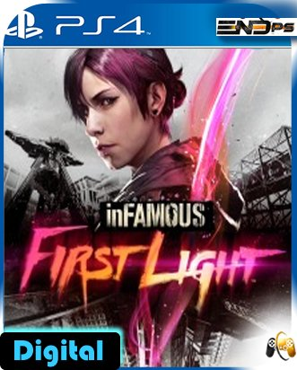 inFAMOUS First Light - Add On - Ps4