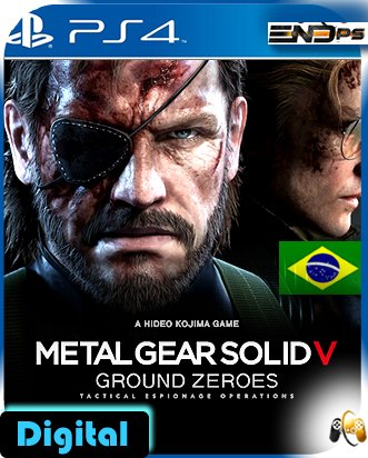 Metal Gear Solid V: Ground Zeroes - Ps4
