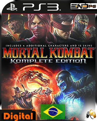 Mortal Kombat 9 Komplete Edition - Ps3