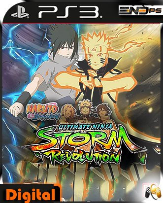 NARUTO SHIPPUDEN: Ultimate Ninja STORM Revolution - Ps3