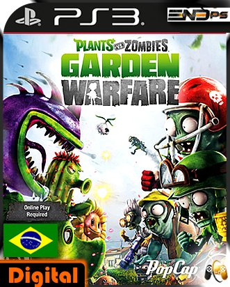 Plants vs. Zombies Garden Warfare - Ps3