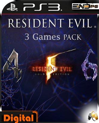 Resident Evil Pack - 4 -5 -6 - Ps3