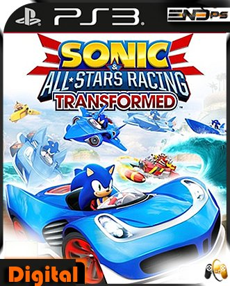Sonic & All-Stars Racing Transformed -Ps3