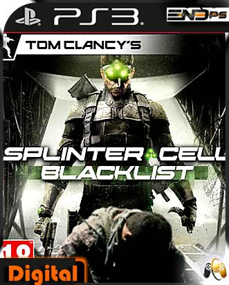 Tom Clancys Splinter Cell Blacklist -Ps3