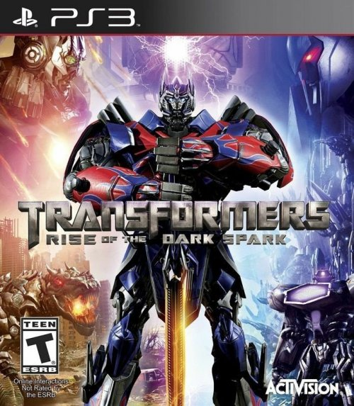 TRANSFORMERS : Rise of the Dark Spark - Ps3