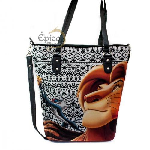 Bolsa tote/shopper Simba - O Rei Leão