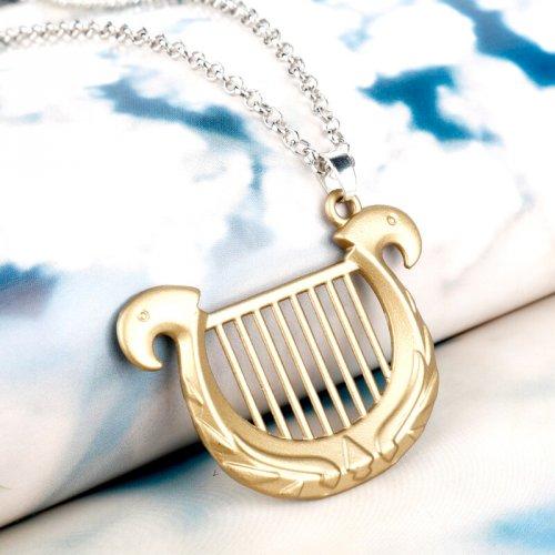 Colar Harpa da Deusa Legend Of Zelda