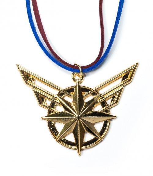 Colar símbolo Capitã Marvel