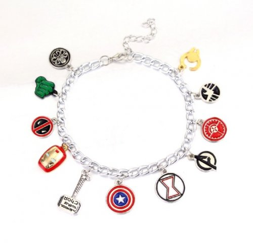 Pulseira Vingadores / Avengers - Ajustável