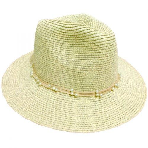 Chapéu de praia Bege