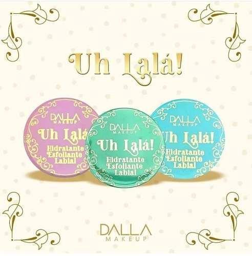 Dalla Makeup Hidratante Esfoliante Labial - Caramel Pudding