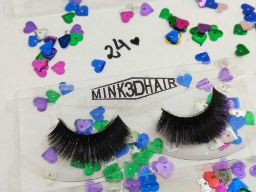 Hello Mini Cílios Postiços Tipo Mink 3D Hair - 024
