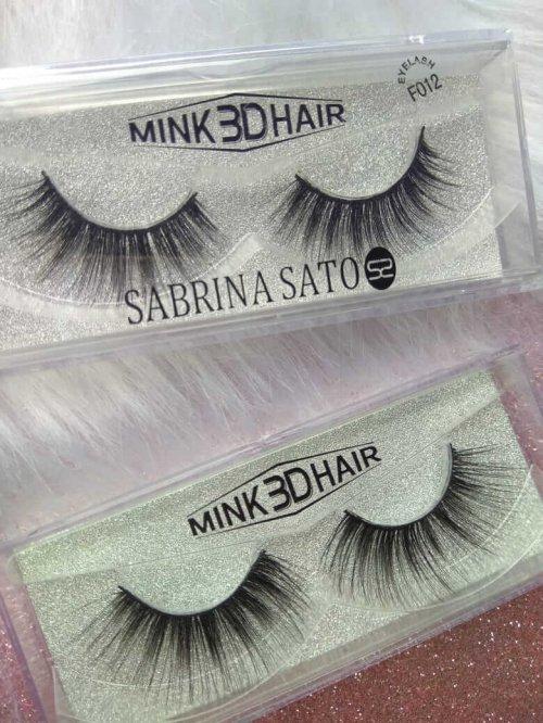 Sabrina Sato Cílios Postiços Tipo Mink 3D Hair - 012