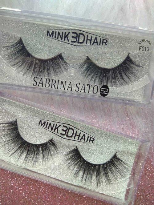 Sabrina Sato Cílios Postiços Tipo Mink 3D Hair - 013
