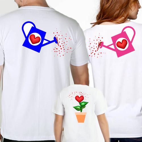 fd6a0edd4f7ad Kit 3 Camisetas Jardim