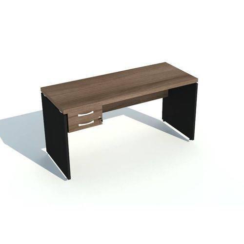 mesa secretária 1.20 x 0,60 c/ gavetas  tampo com 40 mm de espessura
