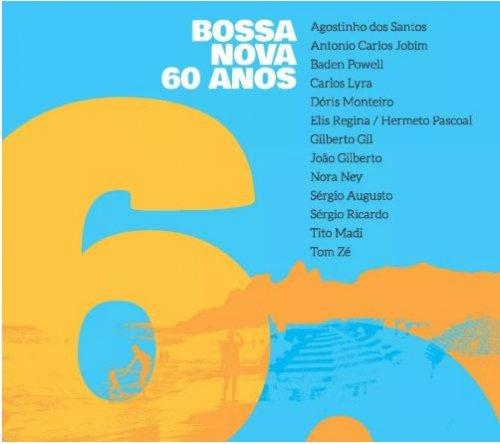 CD  BOSSA NOVA  - 60 ANOS   (CD DUPLO - 2 CDS)