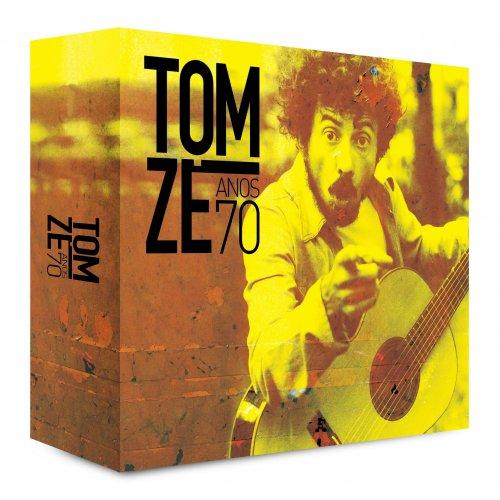 BOX TOM ZÉ - BOX 4 CDS - ANOS 70
