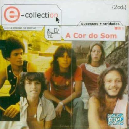 CD A COR DO SOM – E-COLLECTION - SUCESSOS E RARIDADES