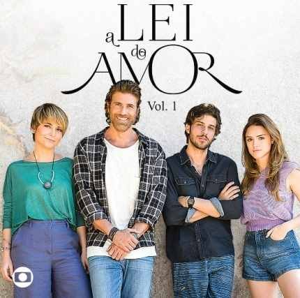 CD A LEI DO AMOR VOLUME 1 - TRILHA SONORA NOVELA