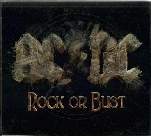 CD AC/DC - ROCK OR BUST - DIGIPACK - IMAGEM HOLOGRÁFICA