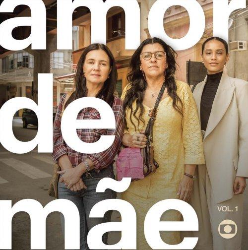 CD AMOR DE MÃE VOLUME 1 (TRILHA SONORA DE NOVELAS)